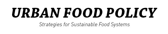 Urban Food Policy